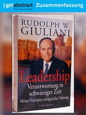 cover image of Leadership (Zusammenfassung)