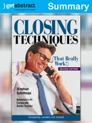 cover image of Closing Techniques (Summary)