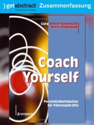 cover image of Coach Yourself (Zusammenfassung)