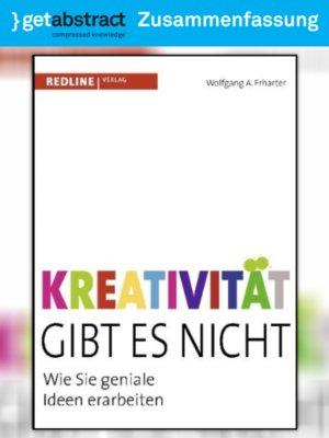 cover image of Kreativität gibt es nicht (Zusammenfassung)