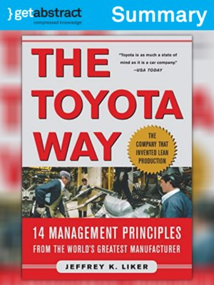 cover image of The Toyota Way (Summary)