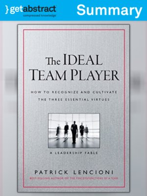 cover image of The Ideal Team Player (Summary)