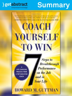 cover image of Coach Yourself to Win (Summary)