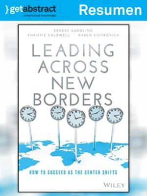 cover image of Liderazgo sin fronteras (resumen)