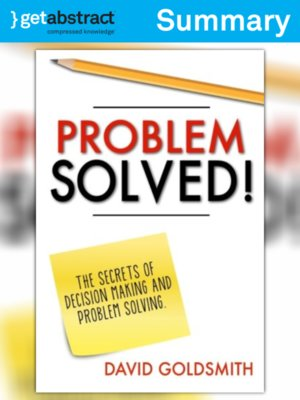 cover image of Problem Solved! (Summary)