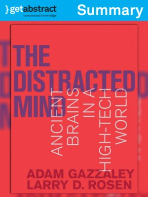 cover image of The Distracted Mind (Summary)
