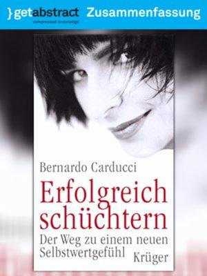 cover image of Erfolgreich schüchtern (Zusammenfassung)