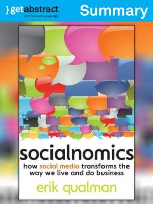 cover image of Socialnomics (Summary)