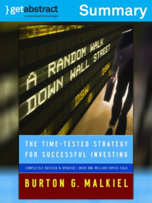 cover image of A Random Walk Down Wall Street (Summary)