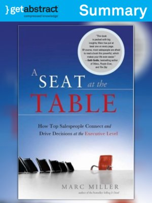 cover image of A Seat at the Table (Summary)