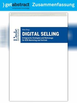 cover image of Digital Selling (Zusammenfassung)