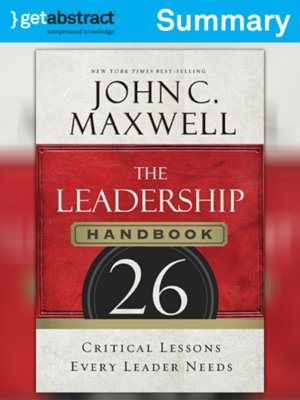 cover image of The Leadership Handbook (Summary)
