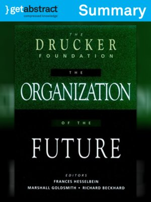 cover image of The Organization of the Future (Summary)