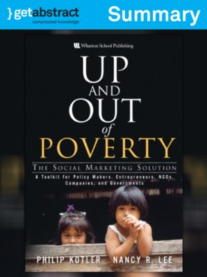 cover image of Up and Out of Poverty (Summary)