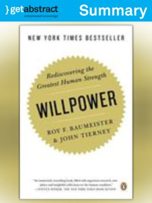 cover image of Willpower (Summary)