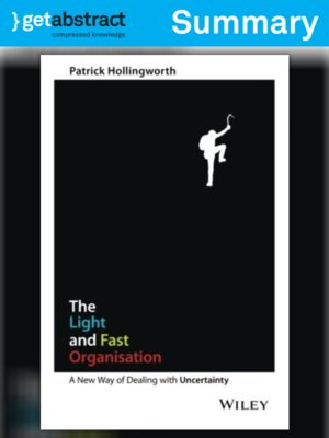 cover image of The Light and Fast Organisation (Summary)