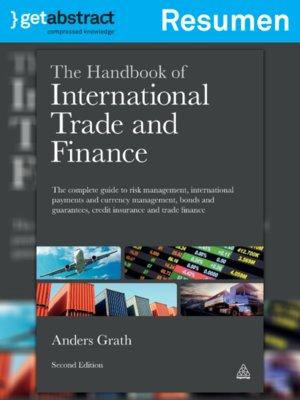 cover image of Manual del comercio y el financiamiento internacionales (resumen)