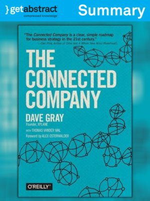cover image of The Connected Company (Summary)