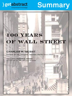 cover image of 100 Years of Wall Street (Summary)