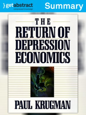 cover image of The Return of Depression Economics (Summary)