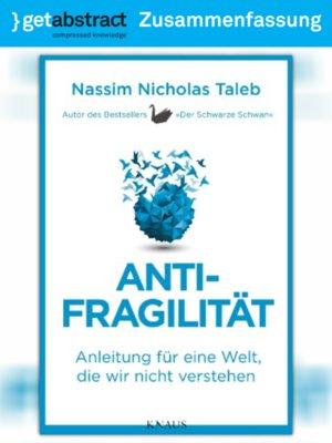 cover image of Antifragilität (Zusammenfassung)