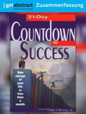 cover image of 21 Tage bis zum Erfolg (Zusammenfassung)