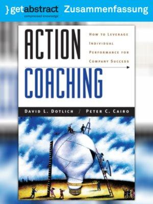 cover image of Aktives Coaching (Zusammenfassung)