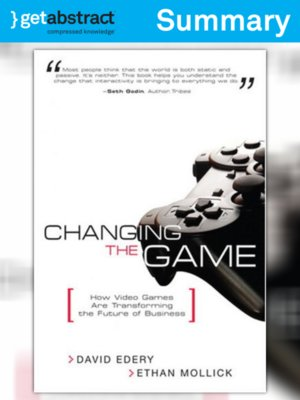 cover image of Changing the Game (Summary)