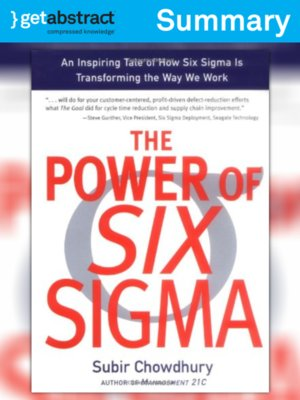 cover image of The Power of Six Sigma (Summary)