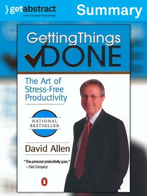 cover image of Getting Things Done (Summary)