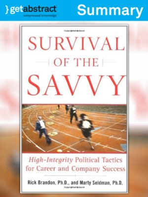 cover image of Survival of the Savvy (Summary)