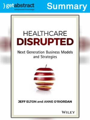 cover image of Healthcare Disrupted (Summary)