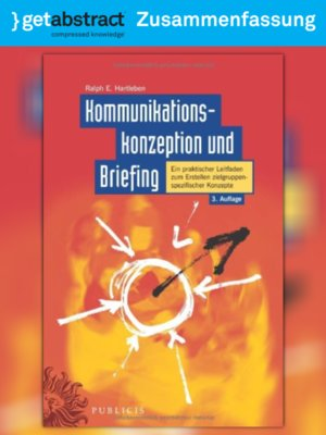 cover image of Kommunikationskonzeption und Briefing (Zusammenfassung)