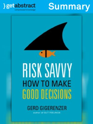 cover image of Risk Savvy (Summary)