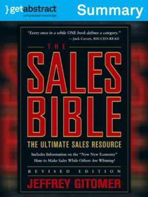 cover image of The Sales Bible (Summary)
