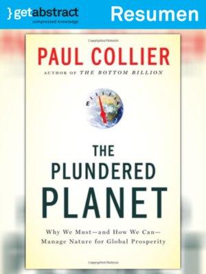 cover image of El planeta saqueado (resumen)