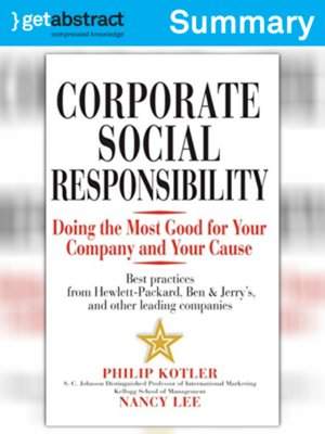 cover image of Corporate Social Responsibility (Summary)