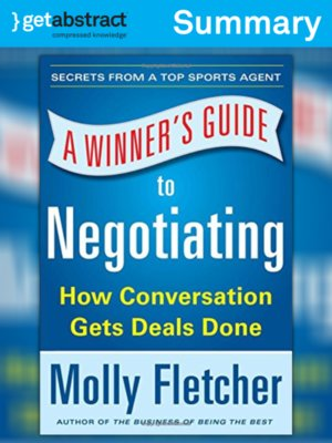 cover image of A Winner's Guide to Negotiating (Summary)