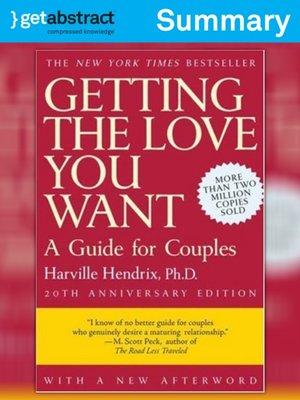 cover image of Getting the Love You Want (Summary)