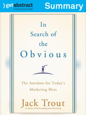 cover image of In Search of the Obvious (Summary)