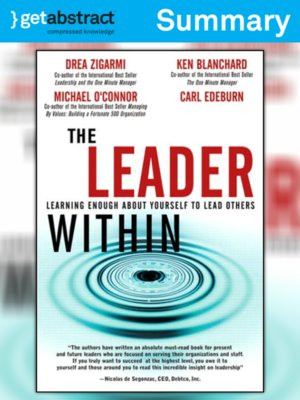 cover image of The Leader Within (Summary)