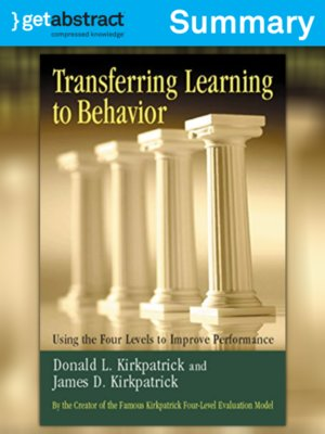 developing supervisors and team leaders kirkpatrick donald l