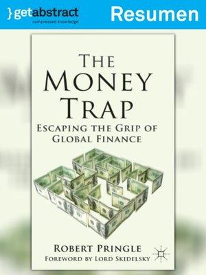 cover image of La trampa del dinero (resumen)