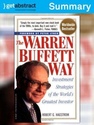 cover image of The Warren Buffett Way (Summary)