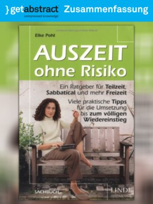 cover image of Auszeit ohne Risiko (Zusammenfassung)