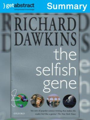 cover image of The Selfish Gene (Summary)
