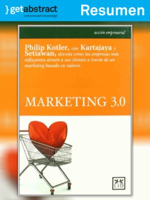 cover image of Marketing 3.0 (resumen)