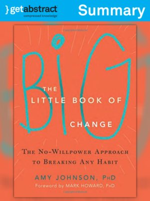 cover image of The Little Book of Big Change (Summary)