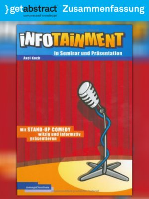 cover image of Infotainment in Seminar und Präsentation (Zusammenfassung)