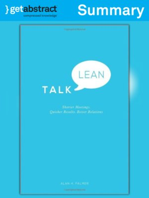 cover image of Talk Lean (Summary)